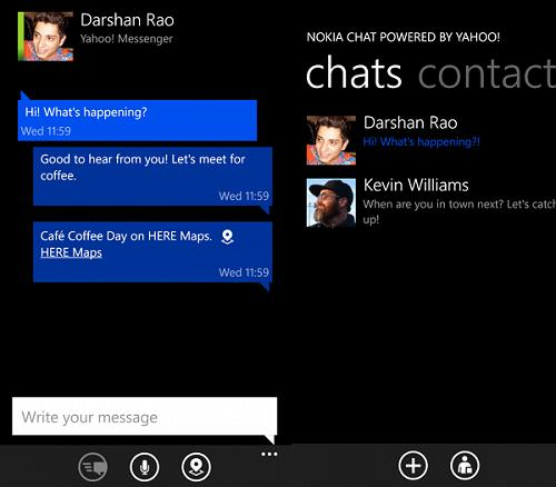 chat apps for windows phone