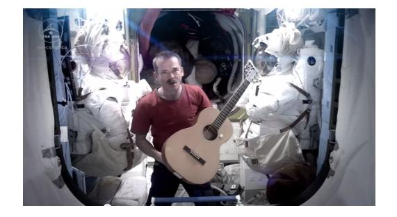 Watch The First-Ever Music Video From Space By Chris Hadfield