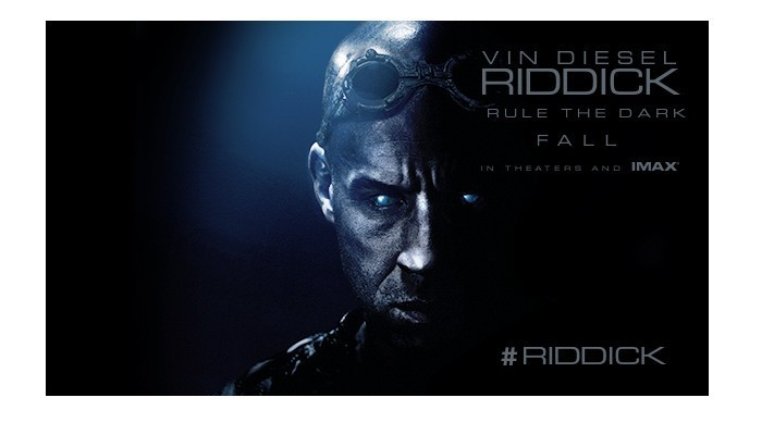 "New RIDDICK Trailer ""You're Not Afraid Of The Dark Are You?"""