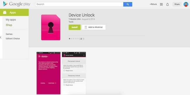 mobile device unlock app now in the google play store tech my