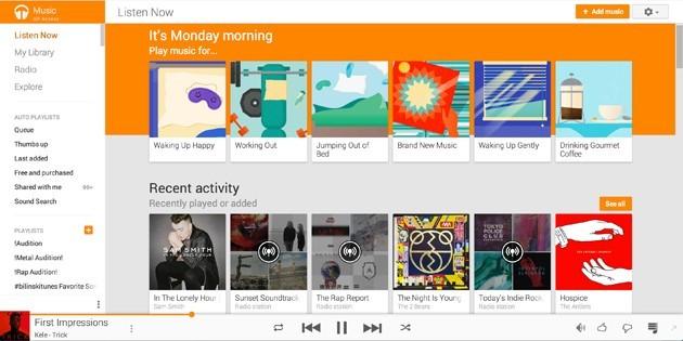 google-play-music-web-material-design