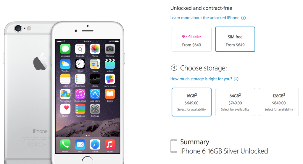 Buy Iphone  Without Contract