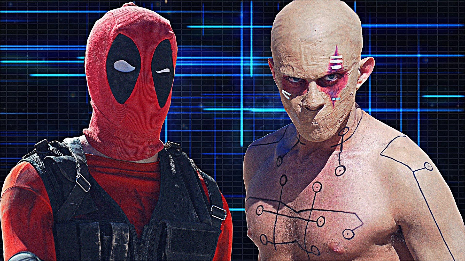 Watch deadpool comic vs deadpool x men origins for Deadpool show
