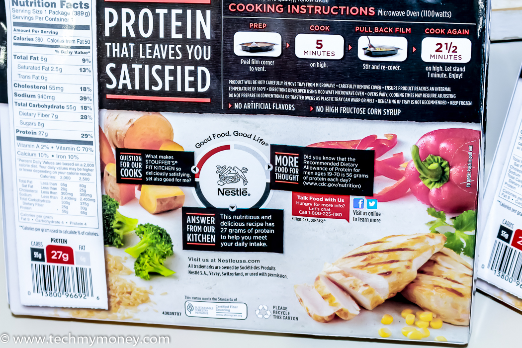 STOUFFER39;S® Fit Kitchen Cilantro Lime Chicken PowerfulProtein  Tech