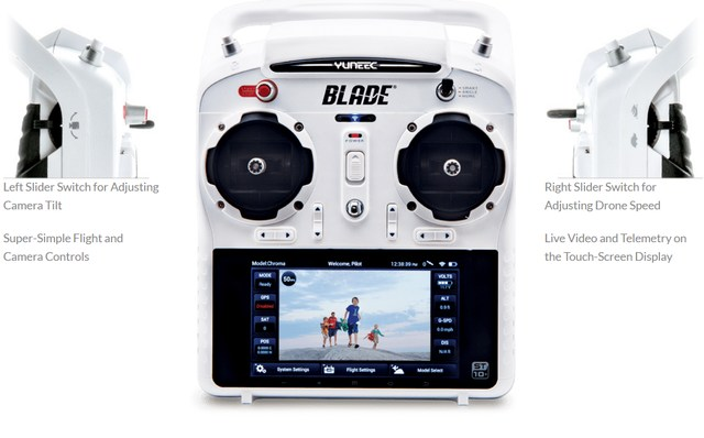 The Large 5 1 2 Inch Touch Screen Display With Intuitive Android Interface Displays Your Flight Controls Live Video And Real Time Telemetry Info Like Speed