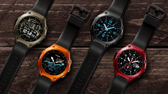 The WSD-F10 Is Casio's First Android Wear Smartwatch