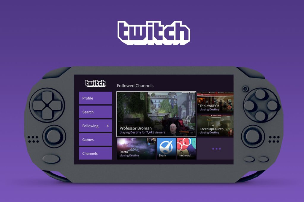 Twitch PlayStation Vita App Now Available