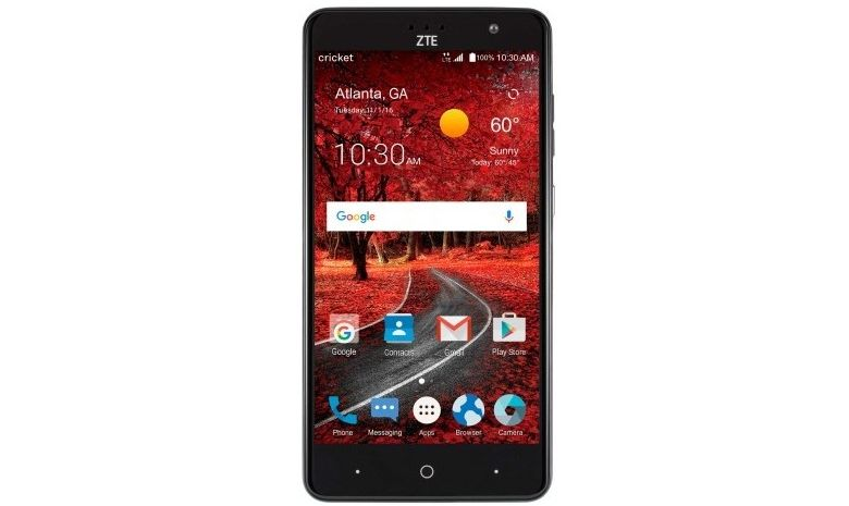 there zte grand 4x found that