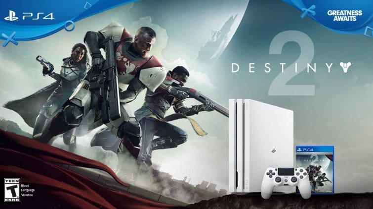 The White Limited Edition PS4 Pro Destiny 2 Bundle Is Up For Prorder